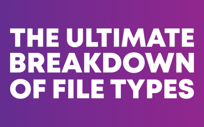 The Ultimate Breakdown of File Types